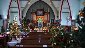 christmas tree festival keswick methodist church
