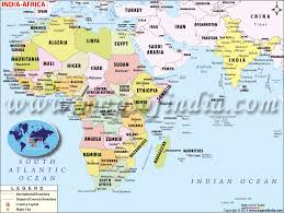 the map of africa africa map