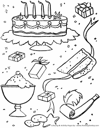 birthday coloring sheets birthday coloring pages free birthday party images coloring
