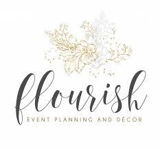 design logo elegant wedding planning logos flourish logo elegant logo design event