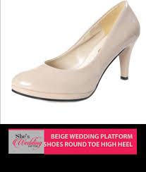 wedding shoes malaysia buy wedding shoes malaysia beige platform she s wedding