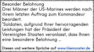 soldaten sprüche besonder belohnungdrei männer der us marines werden nach ihrem