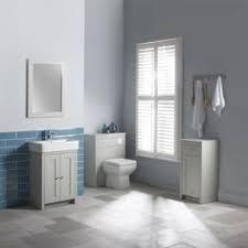 Grey Vanity Bathroom by Old London Stone Grey Vanity Unit 600mm Traditional Vanity Units