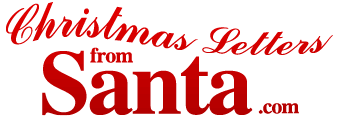 christmas letters from santa personalized christmas letters from