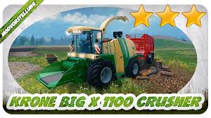 krone big x 1100 crusher v1 0 beta mod for farming simulator 2015