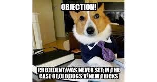 Objection Meme - lawyer dog the dna evidence i gave it to the lab meme explorer