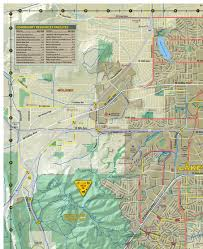 Littleton Colorado Map by Bike And Recreation Map