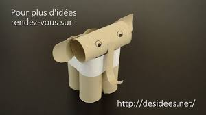 Idee Rouleau Papier Toilette Diy Fabriquez Un éléphant En Rouleau De Papier Toilette Youtube