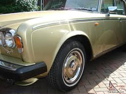 gold rolls royce rolls royce shadow ii 1981 willow gold new mot reduced was