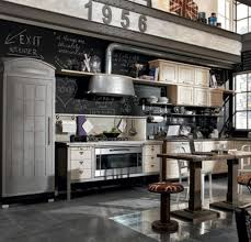vintage kitchen ideas vintage kitchen ideas with wooden table and black retro chalkboard