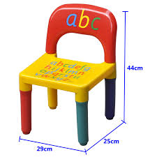 childrens plastic table and chairs alphabet chair table set kids children playroom plastic abc table