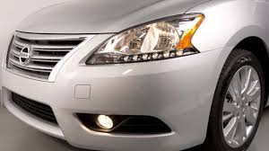 nissan headlights 2015 nissan sentra headlights and exterior lights youtube