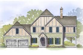 tudor style house plan 3 beds 3 50 baths 2412 sq ft plan 901 98