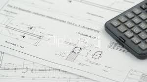 blueprint for house construction royalty free video and stock footage