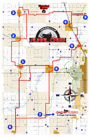 Wisconsin Snowmobile Trails Map by Trail Map On The Trails With Rural Cass Snowmobile Club