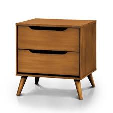 modern oak nightstands allmodern