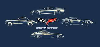 corvette the years corvette through the years by brown73 on deviantart