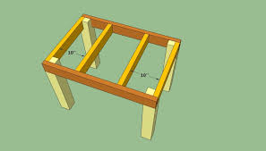Build Patio Table Patio Table Plans Howtospecialist How To Build Step By Step