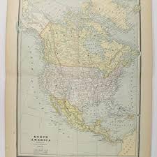 map of united states canada shop united states of america map on wanelo