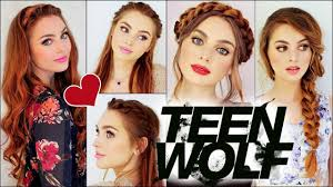 lydia martin hair lydia martin from mtv teen wolf braided hairstyles holland roden
