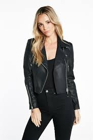 biker jacket shop jackets blazers coats biker jackets bardot