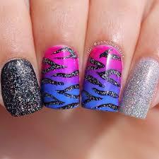 60 glitter nail art designs print beautiful nail art and glitter