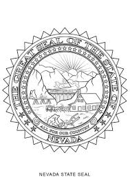 nevada state flag coloring page nevada coloring pages pinterest nevada
