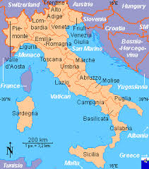 provinces of italy map italy regions and provinces