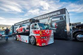 suzuki box truck the only ae86 at sema u0026 the truck that towed it tensema17