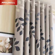 Room Divider Curtains by Aliexpress Com Buy Home Use Blackout Curtain Pastoral Floral