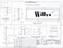 jeep bed plans pdf tech west coast willys club