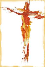 christ on the cross abstract w c m gervasio my artistic
