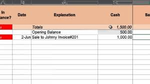Free Simple Bookkeeping Spreadsheet Accountinator Spreadsheet Youtube