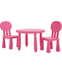 Outdoor Plastic Chairs Buy Funky Plastic Chair And Table Pink At Argos Co Uk Your
