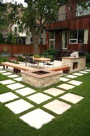 Backyards Ideas Landscape Rectangular Backyard Designs Kwameanane