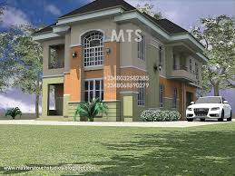 Duplex House Plans Designs Mrs Ifeoma 4 Bedroom Duplex