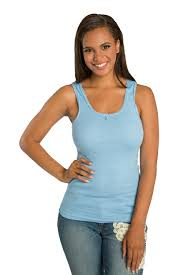 light blue top women s poetic justice sweet vibes women s tank top light blue rib knit