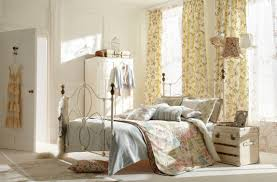 stunning country chic home decorating ideas with gorgeous bedroom