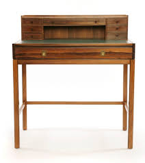 Campaign Desk Rosewood And Leather Danish Campaign Desk Red Modern Furniture