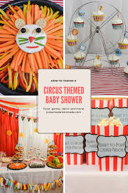circus baby shower circus themed baby shower jonesmade lemonade