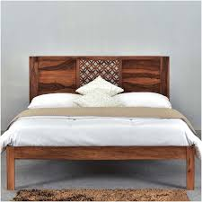 Rustic Wooden Bedroom Furniture - rustic wood bed frame rustic wood minimalist bed frame with