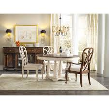 hooker furniture 5481 75201 leesburg round dining table in white