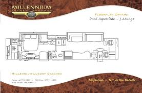 Prevost Floor Plans by 10123 Millennium Luxury Coaches