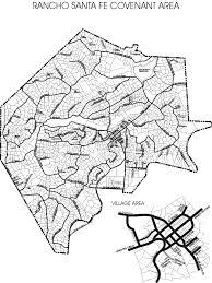 Santa Fe Map Rancho Santa Fe Association View Library Document Community Map