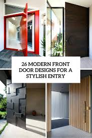 modern contemporary residential entry doors composite front essex