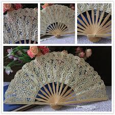 custom fans fashion cheap antique custom vintage fans hot sale bridal bamboo