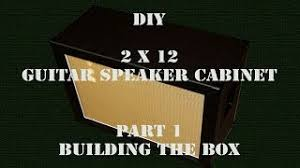 2x12 Guitar Cabinet How To Build A Guitar Speaker Cabinet 2 12 Centerfordemocracy Org