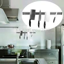 barre magn騁ique cuisine barre magnétique porte couteaux outils aimantée mural support pr
