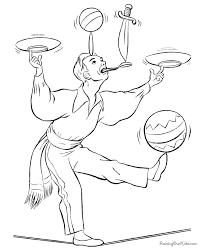 Circus Coloring Pages Of Pictures To Color We Are All Magical Circus Coloring Page