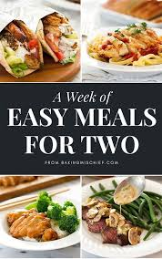 Easy Dinner Ideas Two Best 25 Easy Dinners For Two Ideas On Pinterest Easy Meals For